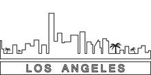 Los Angeles Detailed Skyline I...