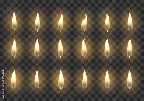 Candle animation frames Canvas-taulu