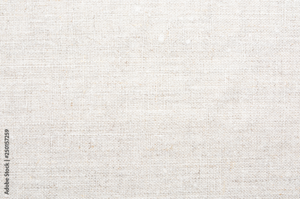 Fototapeta Texture of natural linen fabric