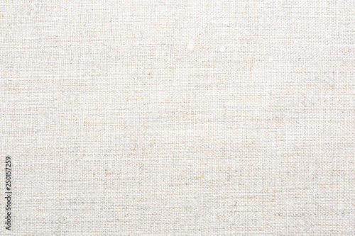 Photo sur Aluminium Tissu Texture of natural linen fabric