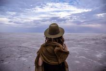 Kati Thanda Lake Eyre; Woman I...
