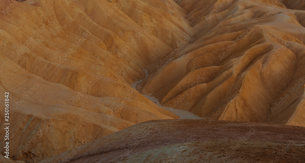 Fototapety, obrazy: Desert Sand Closeup texture. Death Valley National Park, California, USA.