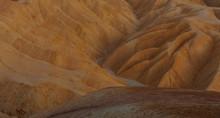 Desert Sand Closeup Texture. Death Valley National Park, California, USA.
