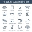 16 market icons