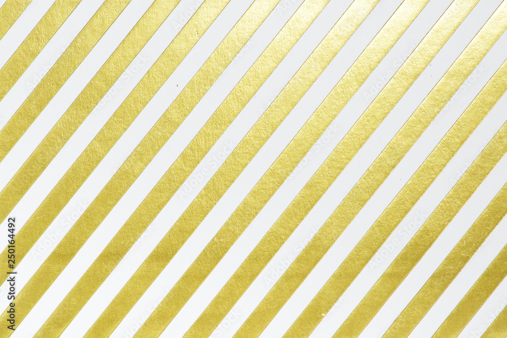 Fototapeta Gold striped paper background