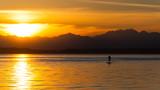 Fototapeta Tęcza - Sunset