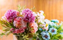 Artificial Flower Bouquet Deco...