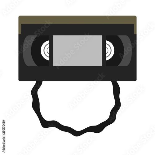 Fotografie, Obraz  伸びたビデオテープ