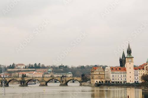 Fotografie, Obraz  Prague, Czech Republic - 04 02 2013: Architecture, buildings and landmark