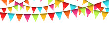 Seamless Colored Garlands Back...
