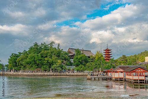 Photo 安芸の宮島の美しい風景