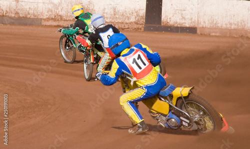 Speedway Canvas Print