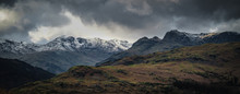 The Langdale Pikes In Winter