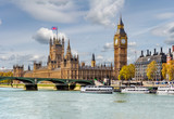 Fototapeta Big Ben - Houses of Parliament and Big Ben, London, UK