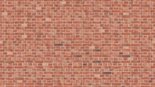 Background Of Red Brick Wall Seamless Vector Pattern