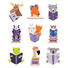 Big Set With Cute Animals Read...