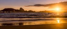 Idyllic Sunrise In Copacabana ...