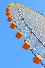 Colorful Giant Ferris Wheel Po...