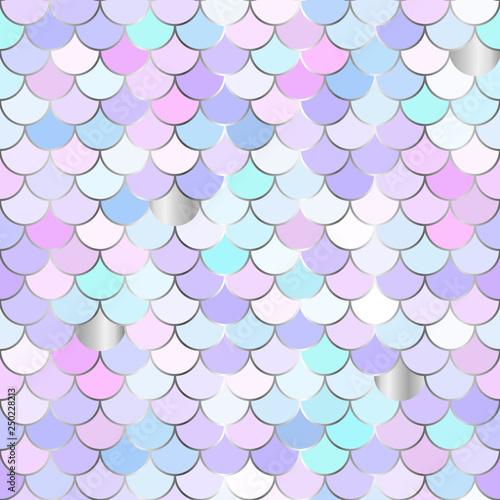 Tapety do pokoju dziewczynki  multicolor-backdrop-with-rainbow-scales-kawaii-mermaid-princess-pattern-sea-fantasy-invitation