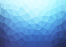 Blue Gradient Pattern Geometric