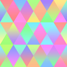 Colorful Rhomb Seamless Patter...