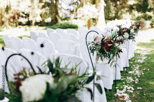 Leinwand Poster Wedding ceremony