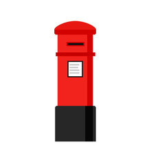 London Letterbox Icon. Clipart...