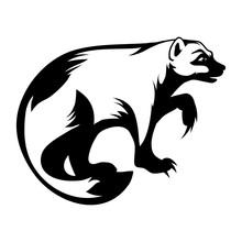 Wolverine Logo. Vector Graphic To Design