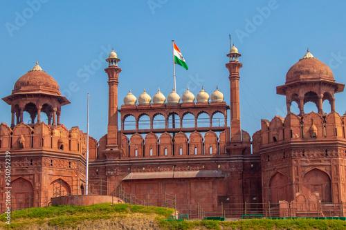 Stickers pour porte Delhi Red Fort India