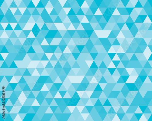 Keuken foto achterwand ZigZag polygon background vector
