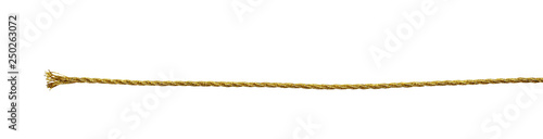 Fotografie, Tablou Golden metallic rope