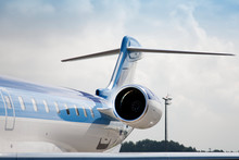Jet Airplane Tail