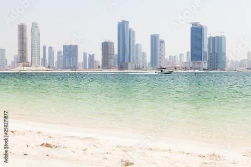 Photo  Dubai skyline