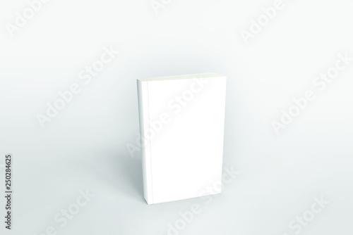 Cover Book Mockup 3d - fototapety na wymiar