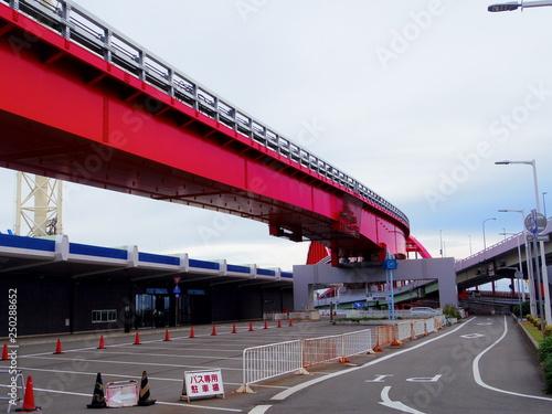 Fototapeta 神戸大橋 obraz na płótnie