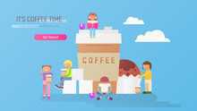 Coffee Time Banner