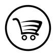 wózek na zakupy ikona