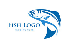 Fishing Vector Design Logo Tem...