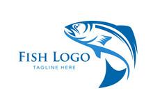 Fishing Vector Design Logo Template. - Fish Logo Vector - Vector