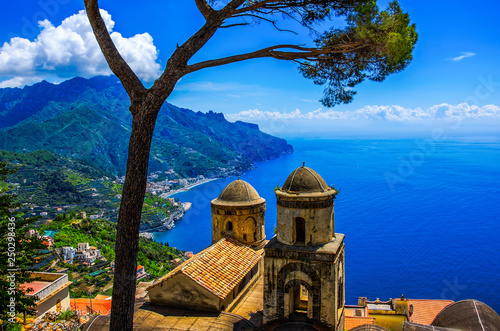 Acrylic Prints Mediterranean Europe The Amalfi Coast from Ravello