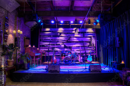Fotografiet Music venue