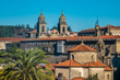 Santiago de Compostela, capital of Galicia, Spain.The main destination of the Way of St. James, a leading Catholic pilgrimage route since the 9th century. Its Old Town is a UNESCO World Heritage Site.