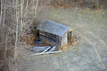Abandoned Shack From Above