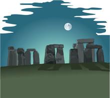 Stonehenge Vector Illustration