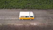 Orange White Volkswagen Westfa...