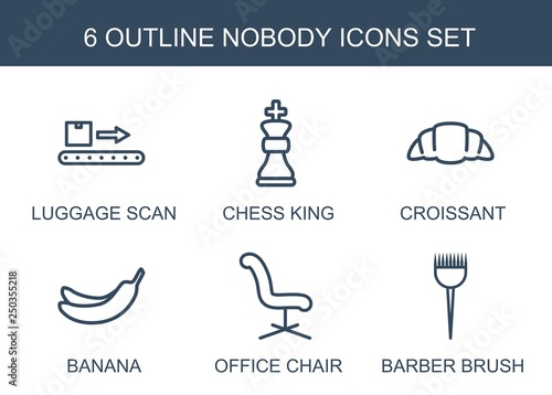 Foto  6 nobody icons