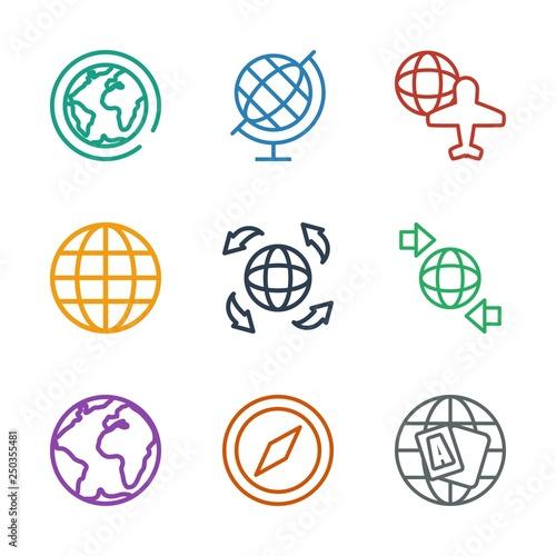 Fotografía  geography icons