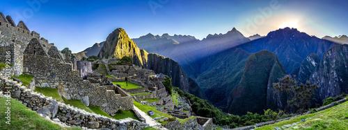 Photo  Machu Pichu Sunrise