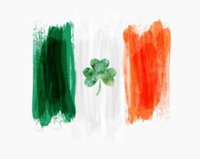 Saint Patrick's Day Ireland Flag