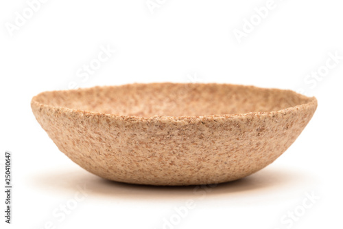 Fotografie, Obraz  Edible Bowl Isolated Front